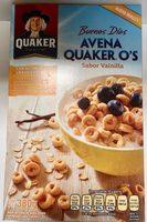 Avena Quaker O's sabor vainilla - Product - es