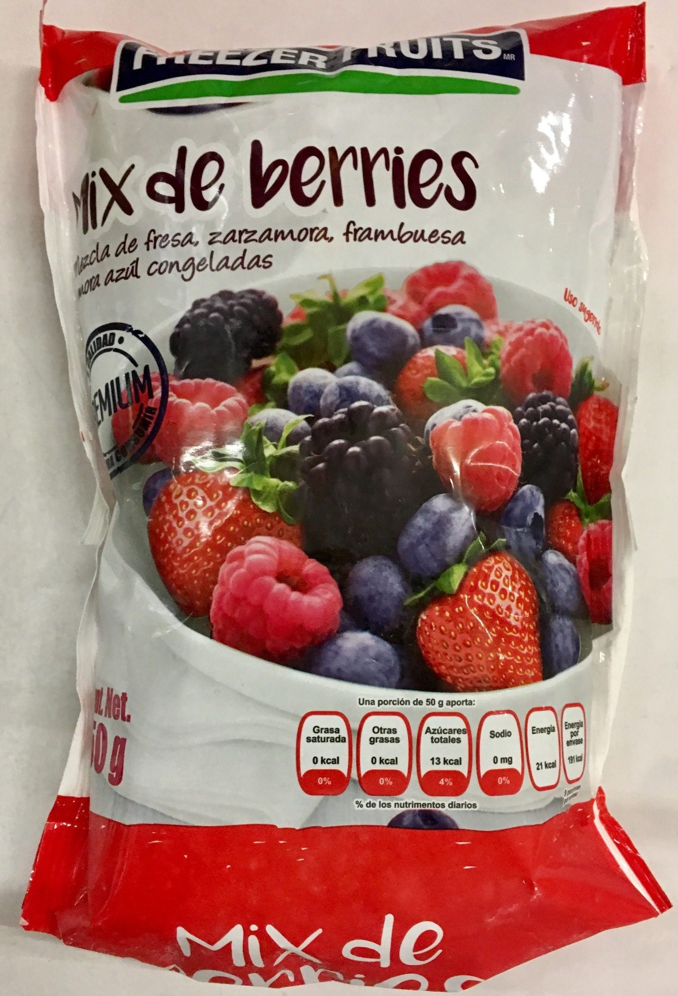 Mix de Berries - Produit - es