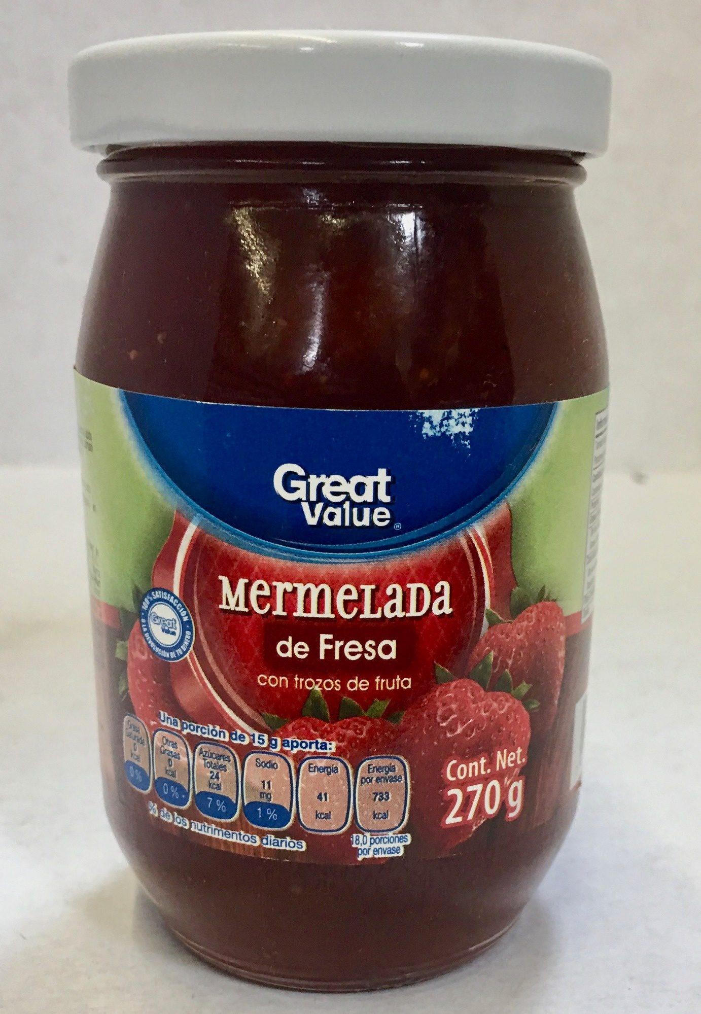 Mermelada de fresa - Produit - es