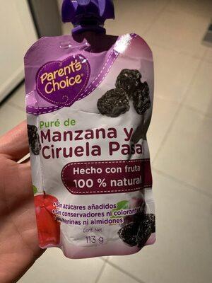 Pure de Manzana y Ciruela Pasa - Producto