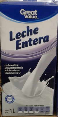 Leche entera - Produit