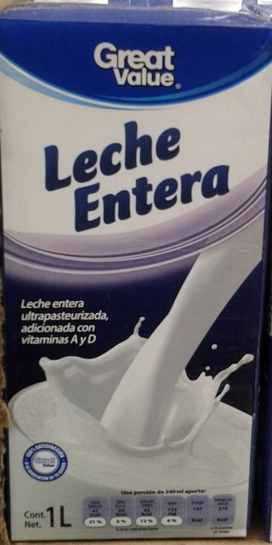 Leche entera - Produit - es