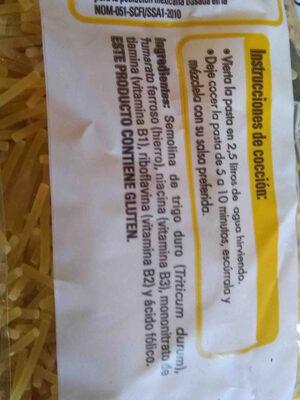sopa - Ingredients - en
