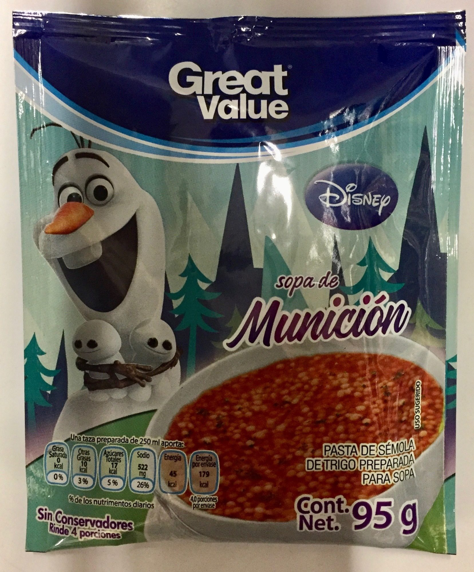Sopa de munición disney - Product - es