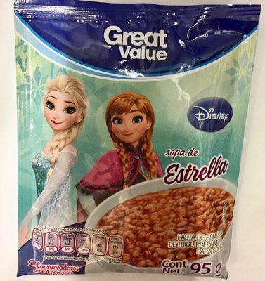 Sopa de estrella Disney - Product - es