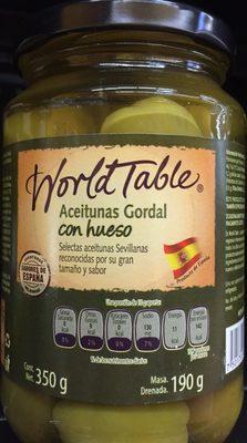 Aceitunas Gordal con Hueso - Produit - es