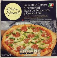 Pizza de pepperoni y queso azul - Product