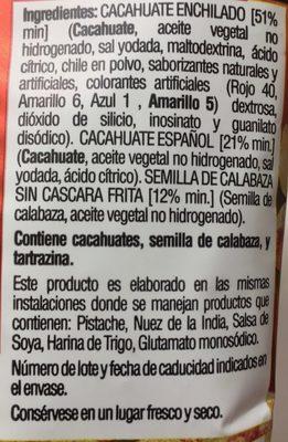 Botana surtida Enchilada - Ingrédients