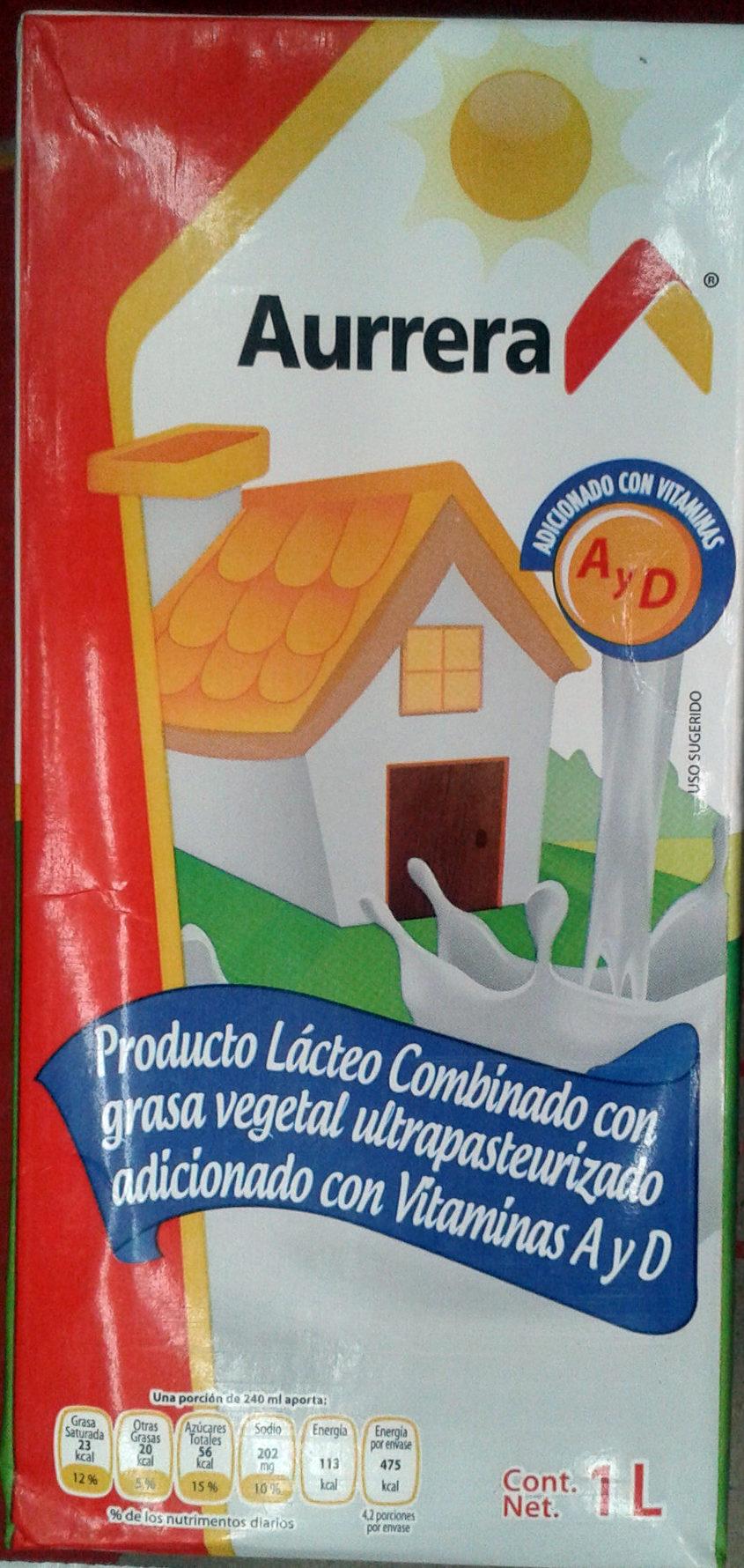 Producto lácteo Aurrera - Product