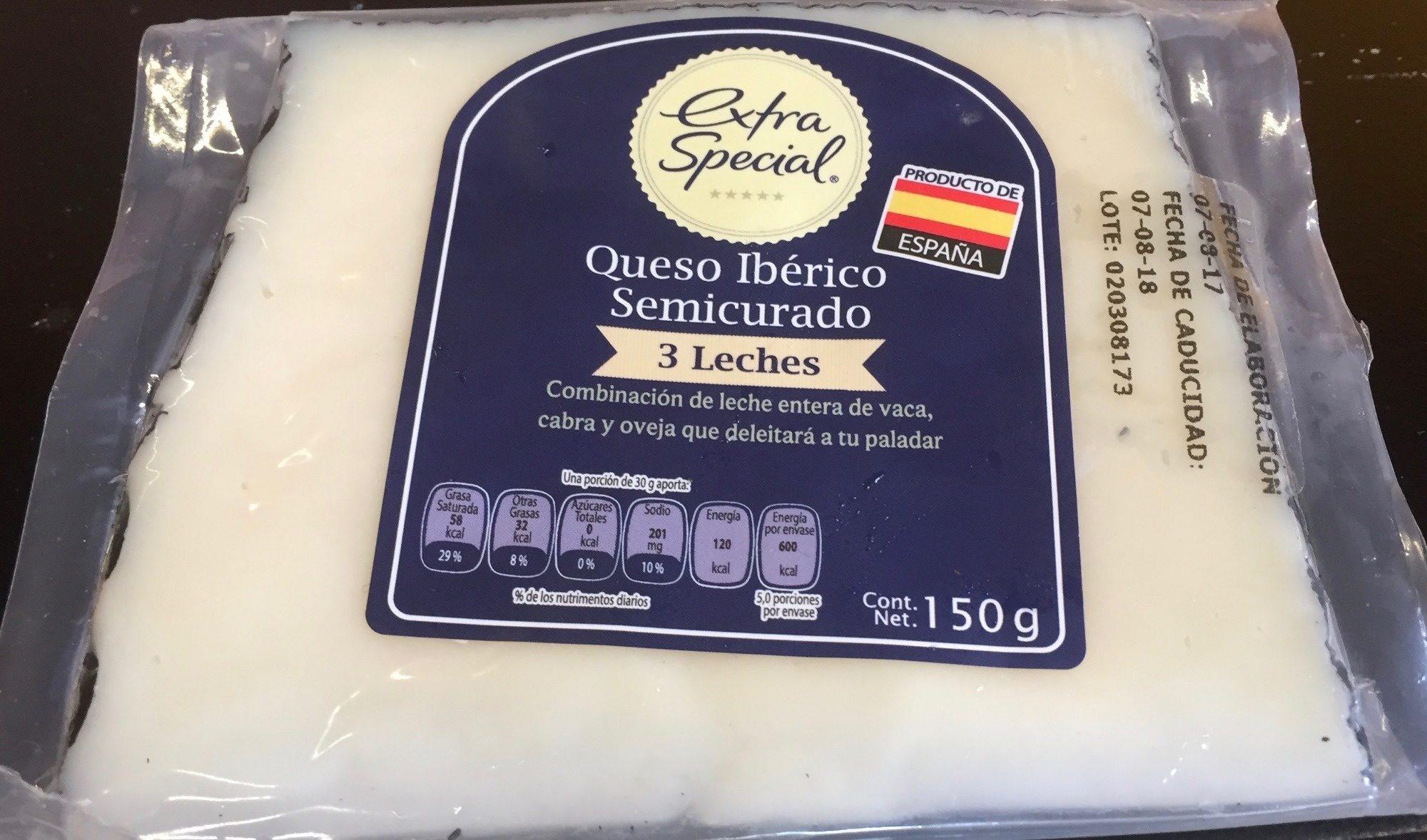Extra Special Queso Iberico Semicurado - Product - es