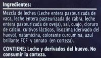 Extra Special Queso Iberico Semicurado - Ingredients - es