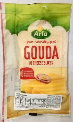 Queso Gouda Ten cheese slices - Produit - es