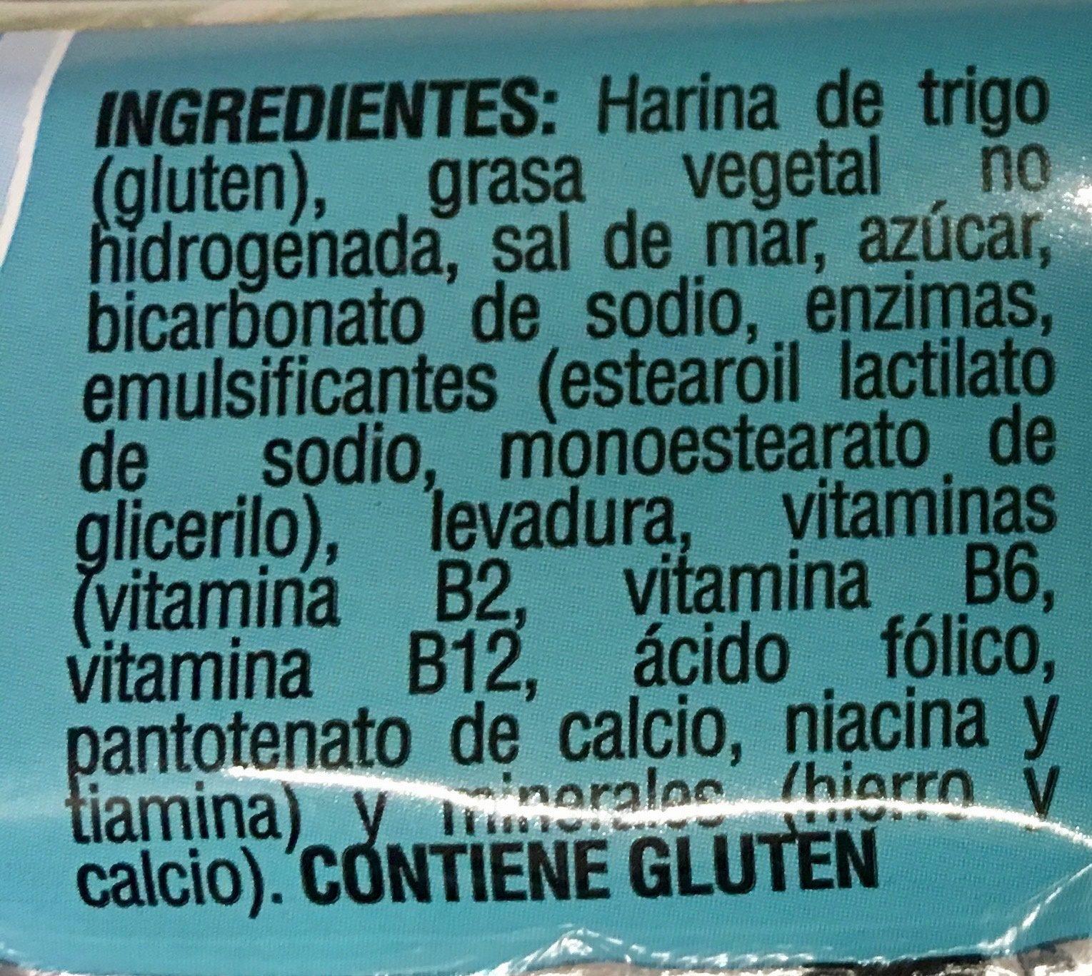 SALADAS - Ingredients - es