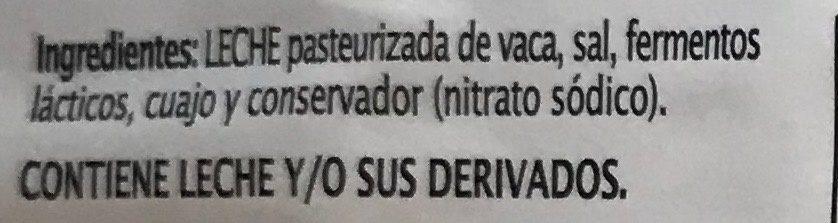 Queso rebanado Havarti - Ingrédients - es