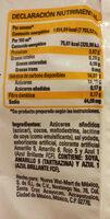 polvo de chocolate aurrera - Ingredientes - en