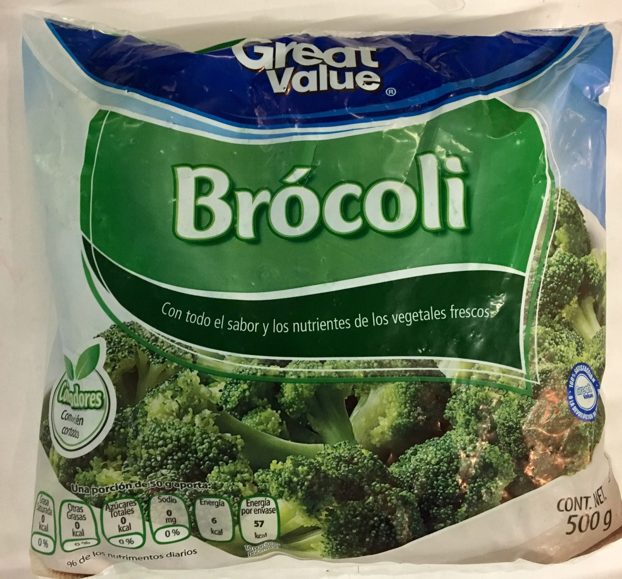 Brócoli, Great Value, - Product - es