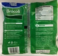 Brócoli, Great Value, - Ingrediënten - es