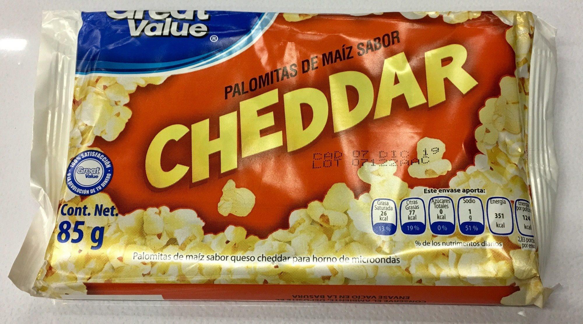 Palomitas sabor Cheddar - Product - es