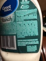 Ranch - Ingredients - es