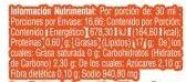 Aderezo César - Nutrition facts - es