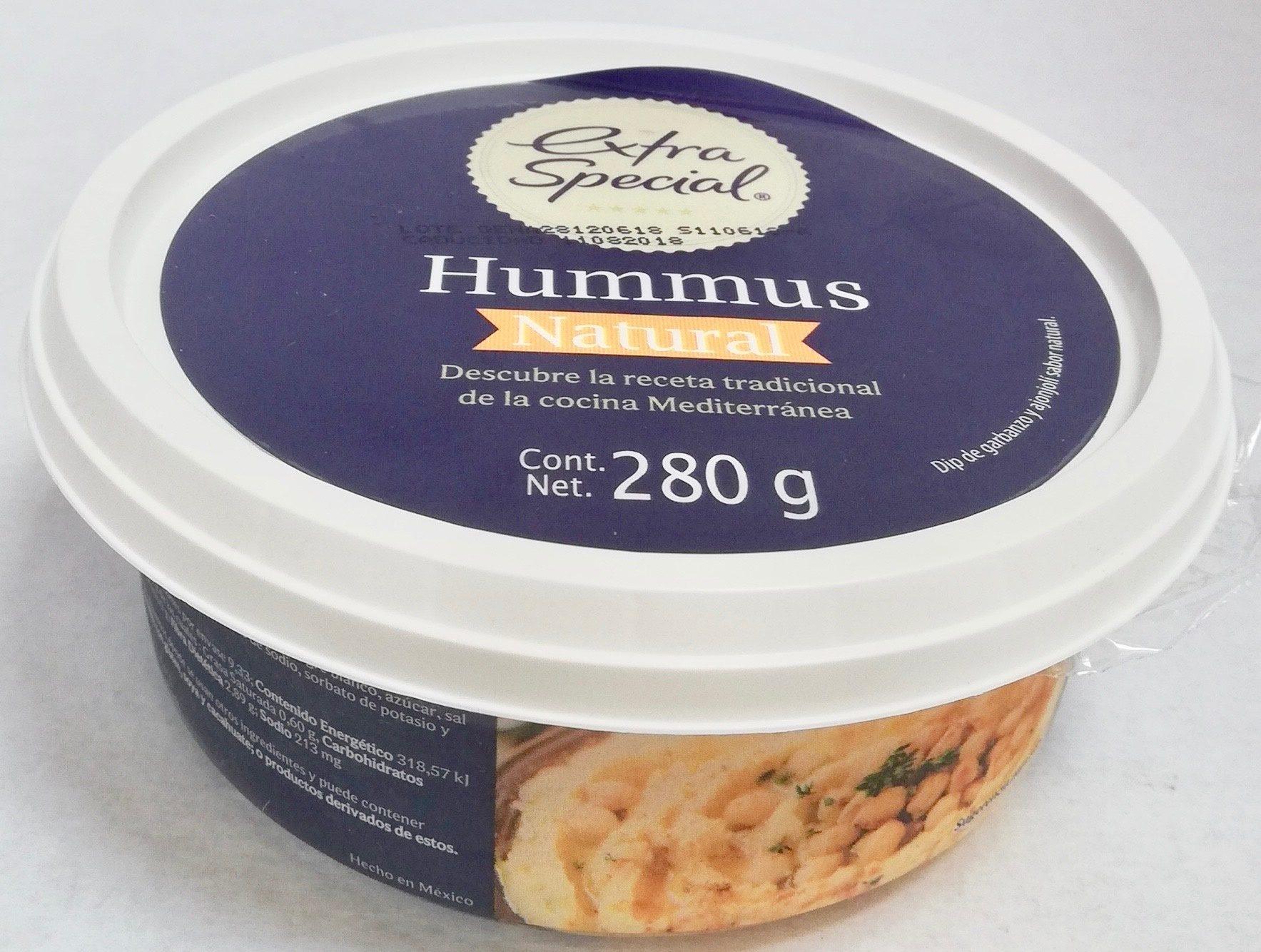 Extra special Hummus Natural - Produit - es
