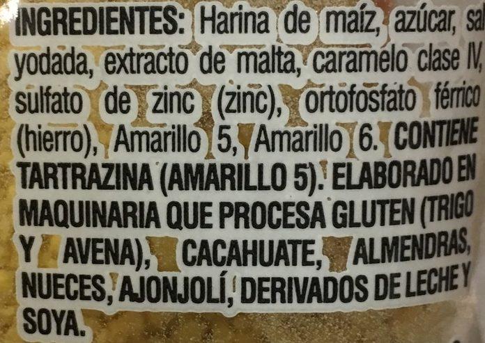 Empanizador - Ingrediënten - es