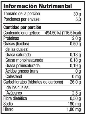 Empanizador - Voedingswaarden - es