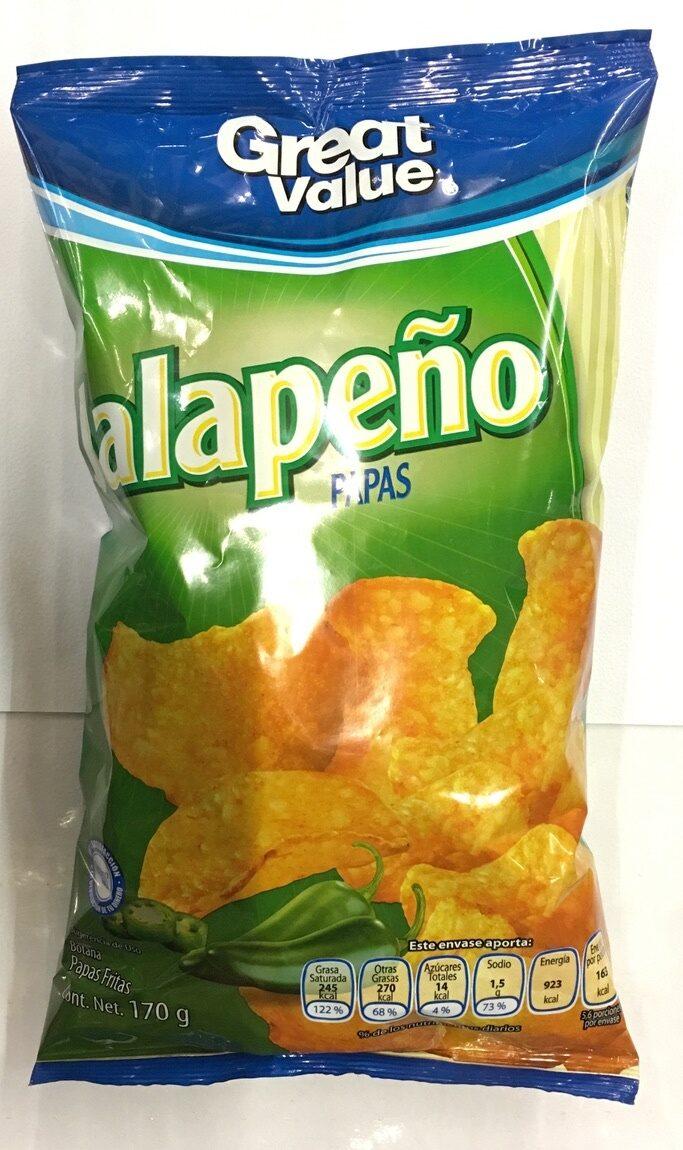 Jalapeño papas - Product