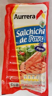 Aurrera Salchicha de Pavo - Product
