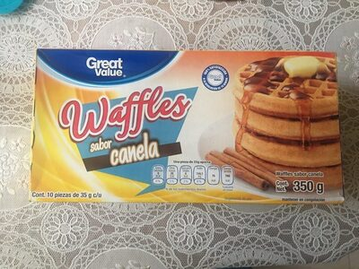 Waffles sabor canela - Producte - es