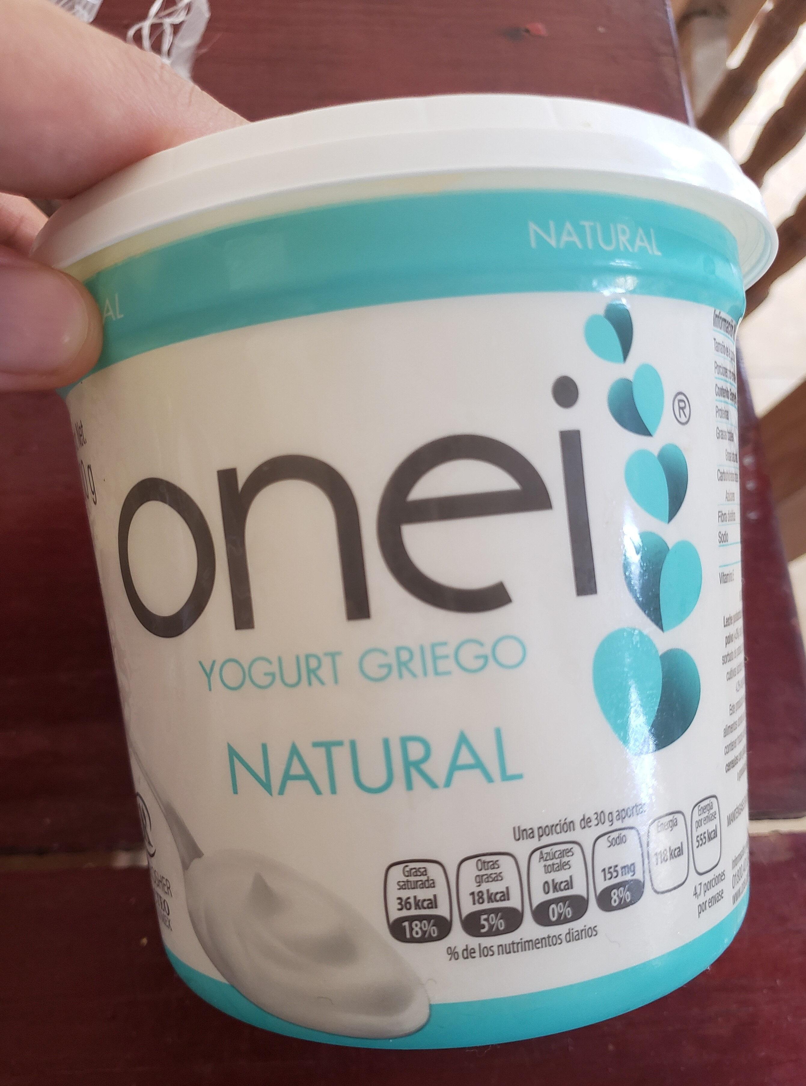Yogur griego - Producto - en