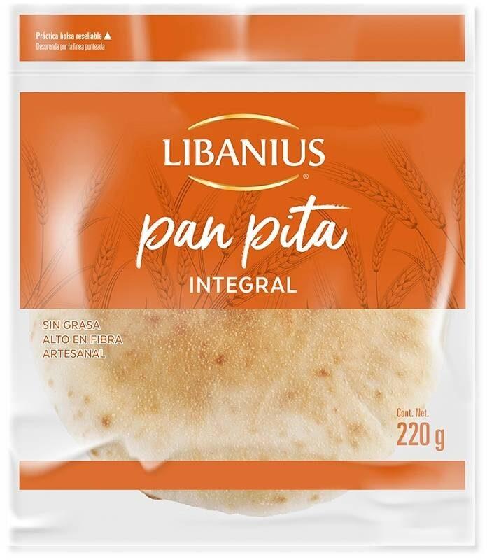 Pan pita de trigo integral - Produit - es