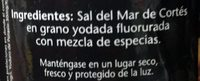 Pragná Salts of the world - Ingredientes - es