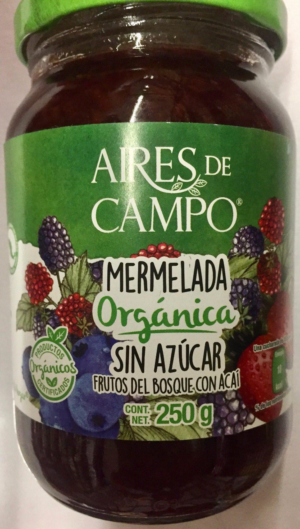 MERMELADA ORGANICA SIN AZUCAR - Product
