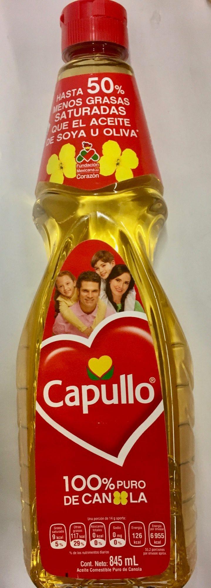 Aceite de canola Capullo - Producto - es
