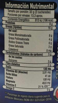 Aladino Crunchy - Voedingswaarden