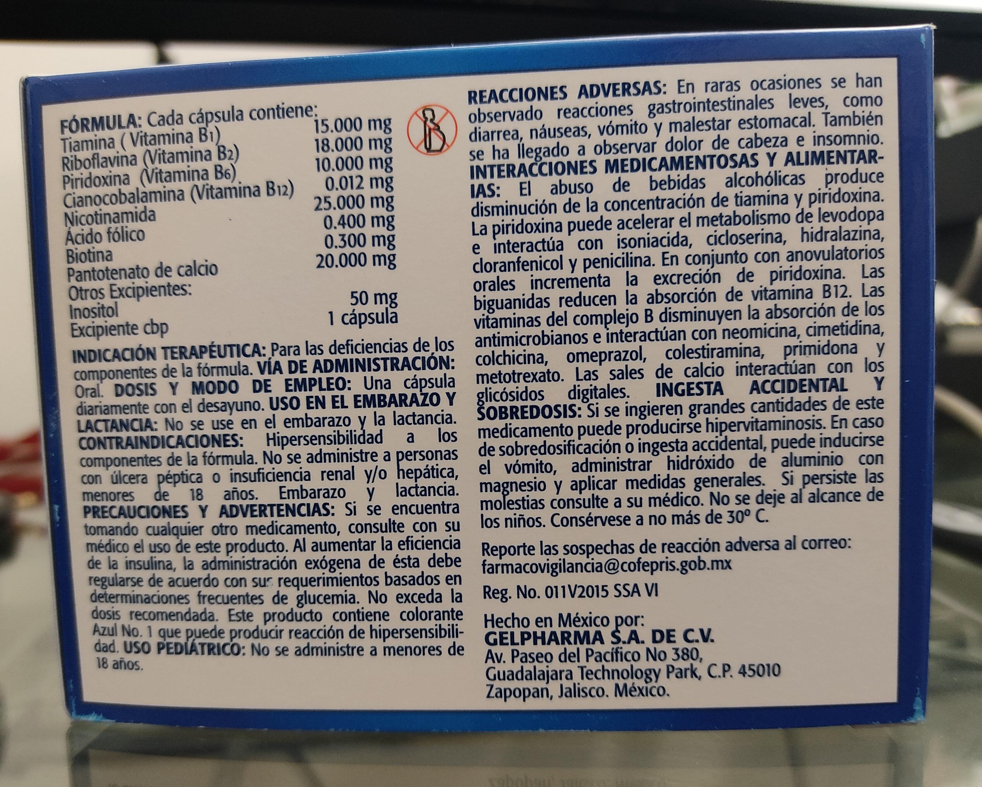 KL-Full cápsulas - Ingredients - es