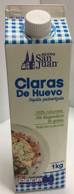 Claras de huevo San Juan - Product - es