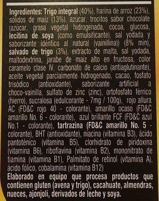 Golden Fit Chocolate - Ingrediënten
