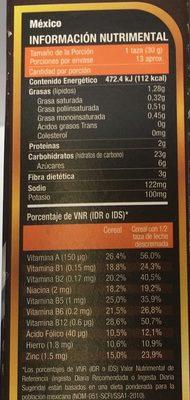 Golden Fit Chocolate - Voedigswaarden