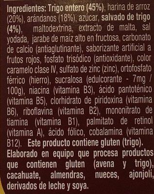 Golden Fit - Ingrediënten - es