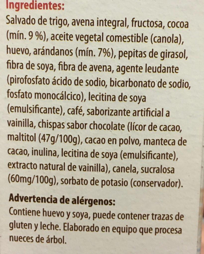TAIFELD'S BROWNIES LIGHT - Ingrediënten - es