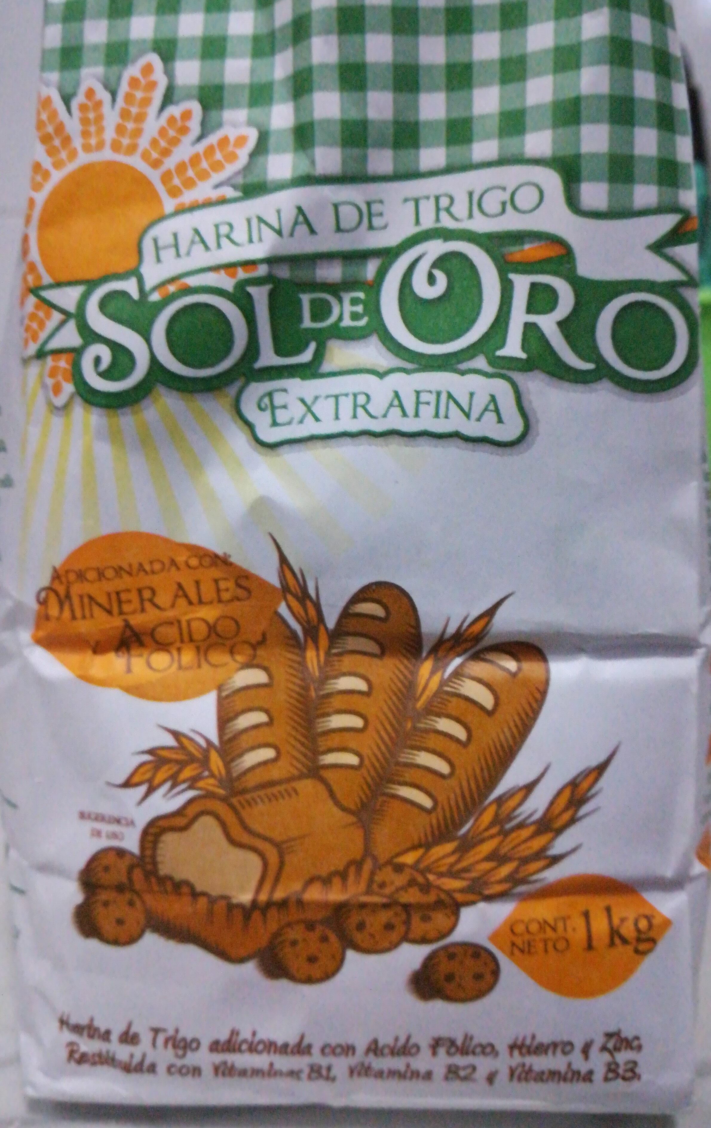 harina de trigo Sol de Oro Extrafina - Product - es