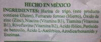 harina de trigo Sol de Oro Extrafina - Ingredients - es