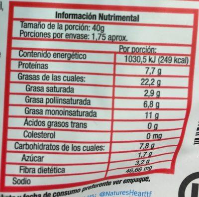 LUXURY NUT MIX - Voedingswaarden - es