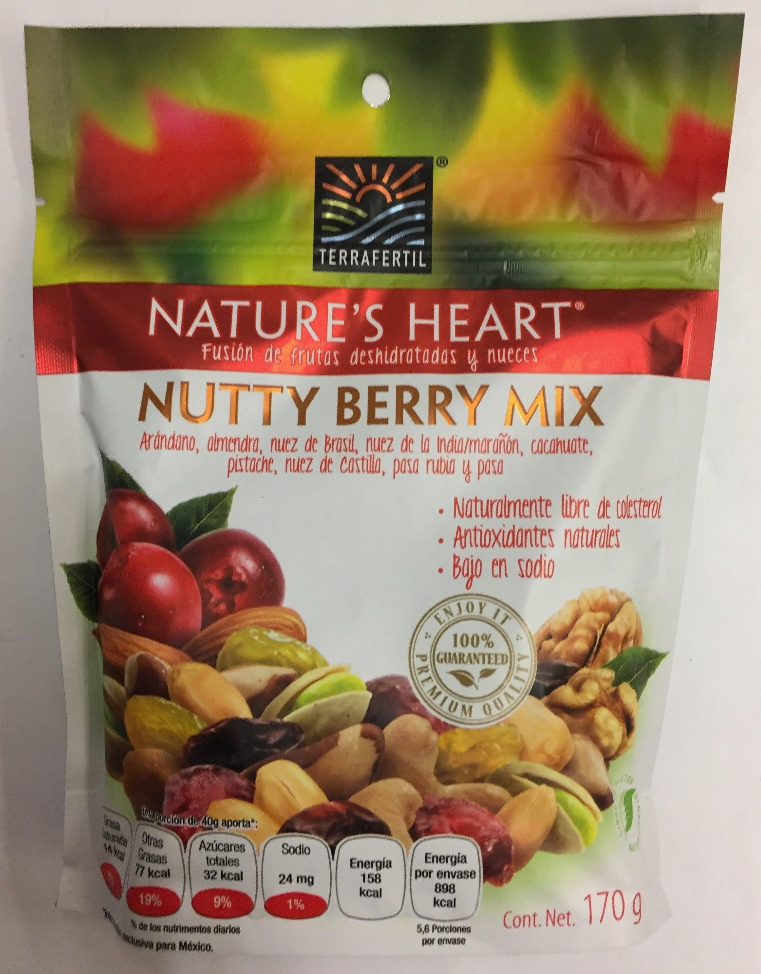 NUTTY BERRY MIX - Product - es