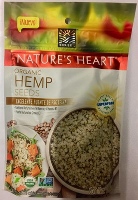Nature's Heart organic hemp seeds - Producto - es