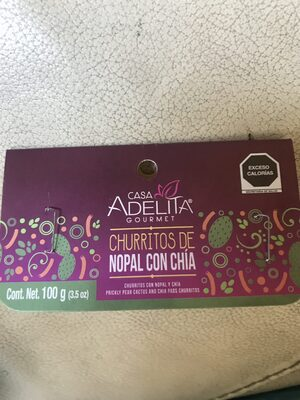 Churritos de nopal con chia - Produit - es