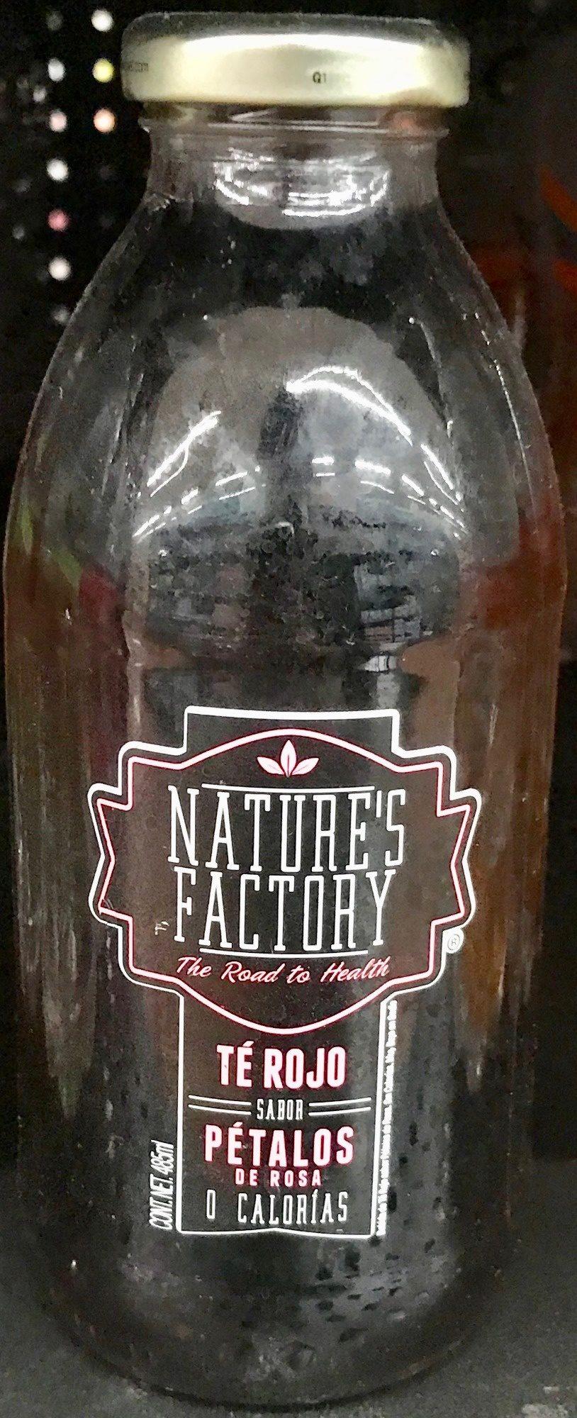 Nature's Factory Té Rojo sabor Pétalos de Rosa - Produit