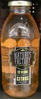 Nature's Factory Té verde sabor Citrus - Produit